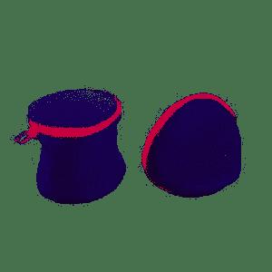 Jogo C/2 Sacos Protetores  P/Roupa Íntima Casambiente