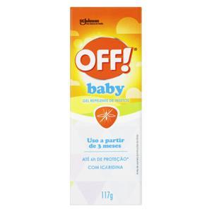 Repelente Gel sem Perfume Off! Baby Caixa 117g