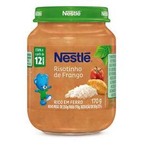 Alimento Infantil NESTLÉ  Risotinho de Frango 170g