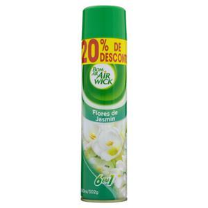 Neutralizador de Odores Flores de Jasmin Air Wick Bom Ar Frasco 360ml Grátis 20% de Desconto