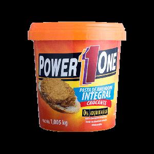Pasta De Amendoim Power One Crocante 1KG