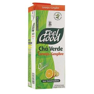 Chá Verde FEEL GOOD Laranja e Gengibre 1L