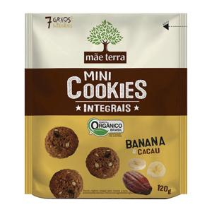 Cookie Banana Integral Organico 120g - Mãe Terra