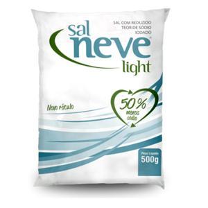 Sal Refinado NEVE Light 500g