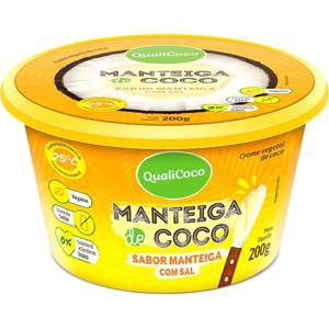 Manteiga De Coco Qualicoco com Sal 200G
