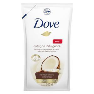 Sabonete Liquido 200Ml Dove Refil Leite Coco