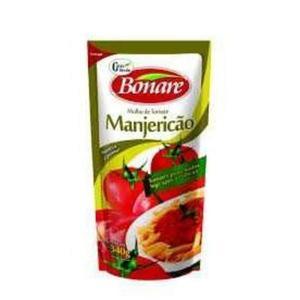 Molho de Tomate BONARE Manjericão Sachê 340g