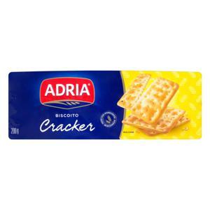 Biscoito Cracker Adria Pacote 200g