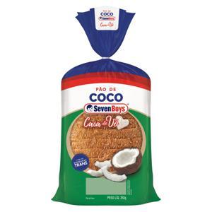 Pão Coco Seven Boys Casa de Vó Pacote 350g