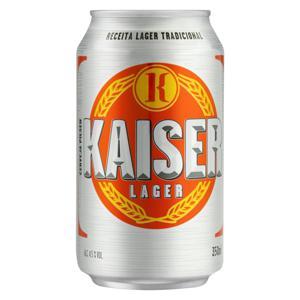 Cerveja Pilsen Kaiser Lata 350ml