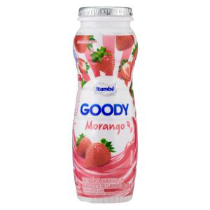 Bebida Láctea Fermentada Morango Itambé Goody Frasco 170g