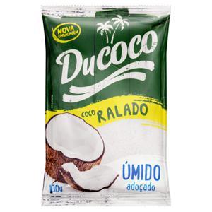 Coco Ralado Úmido Adoçado Ducoco Pacote 100g