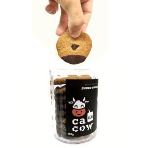 Cookies Veganos  Chocolate Amargo 152g - Cacow