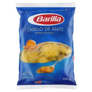 Macarrão com Ovos Cabelo de Anjo Barilla Pacote 500g