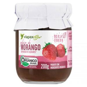 Geléia de morango 100% fruta 200g