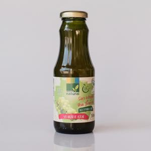 Suco de Uva Branca Integral Orgânico Extraído a Frio (300ml)
