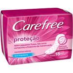 Protetor Íntimo Diário Carefree Neutralize Pacote Com 15