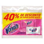 Alvejante em Barra VANISH Barra Pink+ White 150g - Embalagem com 2 Unidades