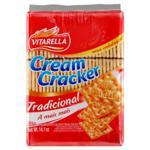 Biscoito Cream Cracker Tradicional Vitarella Pacote 400g