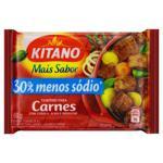 Tempero em Pó para Carnes Cebola, Alho e Orégano Mais Sabor Kitano Pacote 60g 12 Unidades