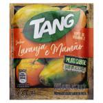 Refresco em Pó Laranja e Mamão Tang Pacote 25g