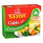 Caldo em Pó Legumes Sazón Caixa 37,5g 5 Unidades