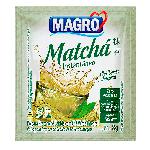 Matchá instantâneo com chá verde integral Magro - sachê com 8 g