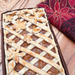 Torta de Maçã com Caramelo, Massa de Aveia 1.200g - Leve Torteria