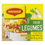 Caldo em Tablete Legumes Maggi Caixa 57g 6 Unidades