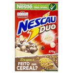 Cereal Matinal Chocolate e Chocolate Branco Nestlé Nescau Duo Caixa 210g