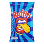 Batata Frita Ondulada Original Elma Chips Ruffles Pacote 96g