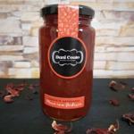 Compota de maçã em calda de hibisco 350g - Dani Couto Cozinha Artesanal