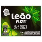 Chá Preto Limão Leão Fuze Caixa 24g 15 Unidades
