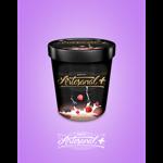 Artesanal+ 500ml sabor Fior di Latte com Frutas Vermelhas
