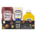 Kit Ketchup Tradicional 397g + Maionese 215g + Mostarda 255g Heinz