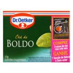 Chá de Boldo Dr. Oetker Caixa 15g 15 Unidades