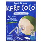 Água de Coco Esterilizada Kero Coco Caixa 200ml