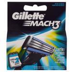 Carga de Aparelho para Barbear Gillette Mach3 2 Unidades
