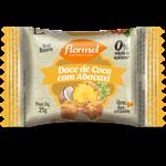 Doce de coco com abacaxi Zero adição de açúcar Flormel - 20 g