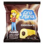 Bolo Baunilha Recheio Chocolate Ana Maria Pacote 70g