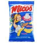 Salgadinho de Milho de Requeijão Micos Pacote 60g