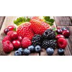 Frutas vermelhas congeladas orgânicas - 500g