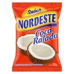 Coco Ralado Desidratado Sabor Nordeste Pacote 100g