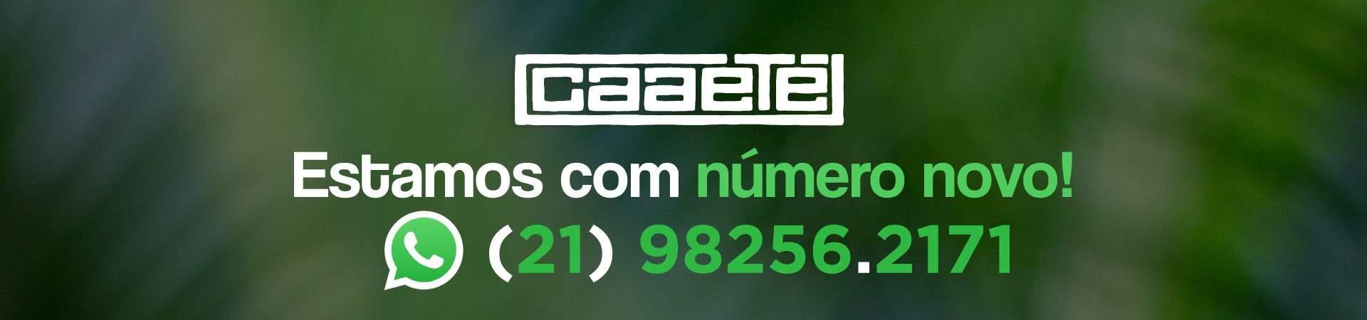 Estamos com número novo: 021 98256 2171