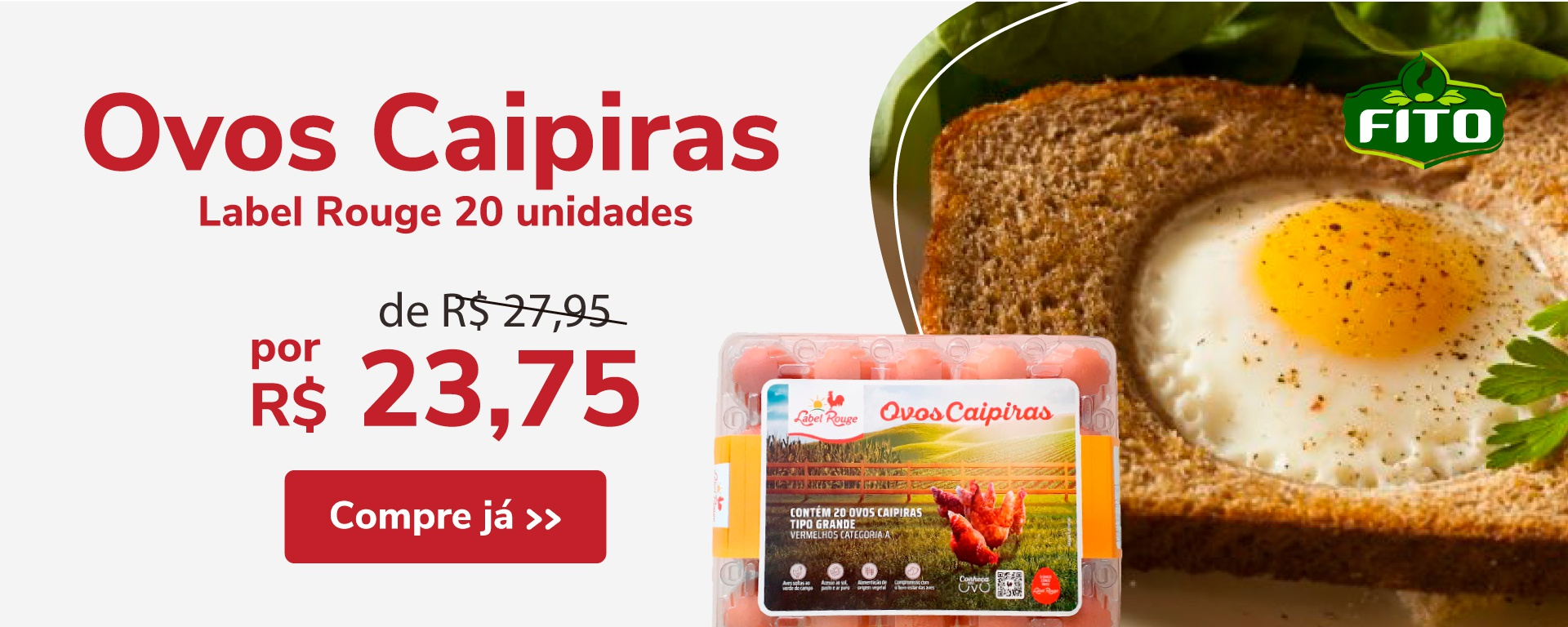Ovos Caipira (m)